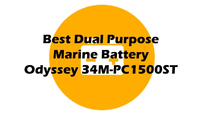 Best Dual Purpose Marine Battery Odyssey 34M-PC1500ST