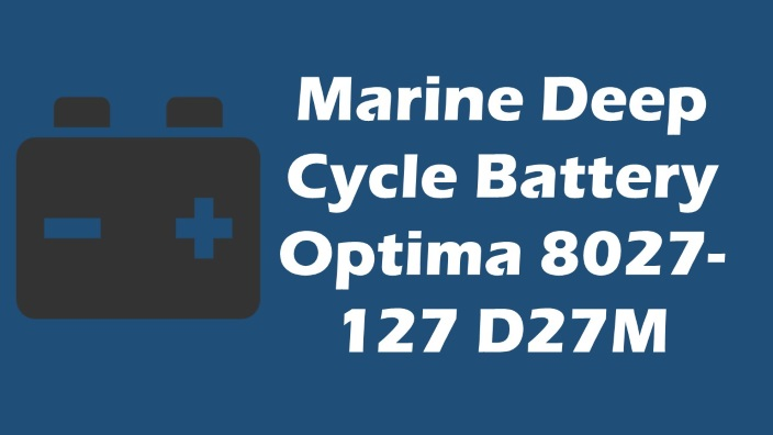 best marine deep cycle battery