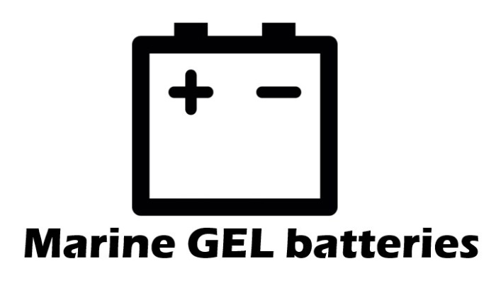 Marine GEL batteries